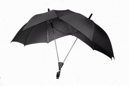 Smart!  And dry...: Gadgets, Blue, 69 Pics, Genius Ideas, Clever, Personalized Umbrellas, Random Stuff, Double Umbrellas, Design