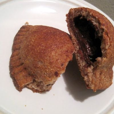 Chocolate Calzone (w/ Left Over Pizza Dough) @keyingredient #chocolate