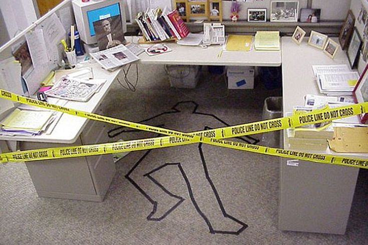 LOL SPOTS, We ALL ARE Funny co-worker away CUBICAL pranks