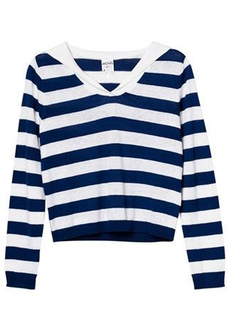 Monki striped jumper, £10