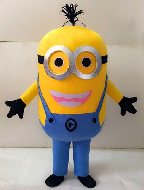 Minion Despicable Me (34 styles) Mascot Costume EPE Fancy Dress Outfit Adult