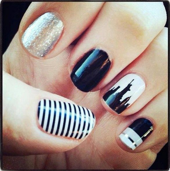 17 Best Ideas About City Nails On Pinterest
