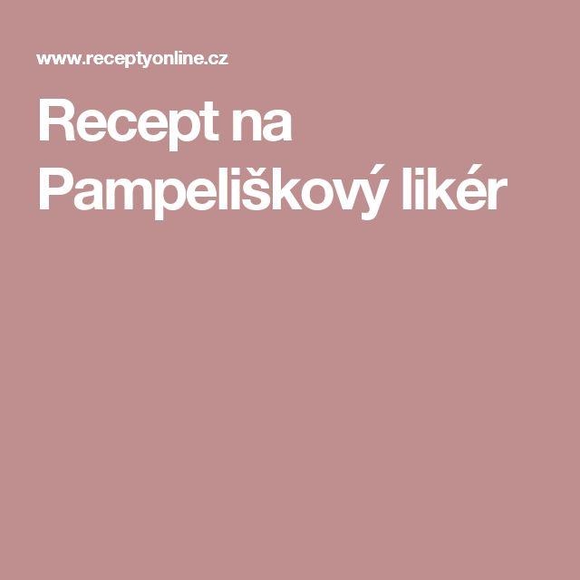 Recept na Pampeliškový likér