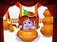 Happy Janmasthami 2014 HD Wallpaper  Happy Janmashtami, Lord Krishna, 2014, HD, Wallpapers, Cute Lord Krishna, Pictures, Images, Dahi Handi, 1080p, Free, Download