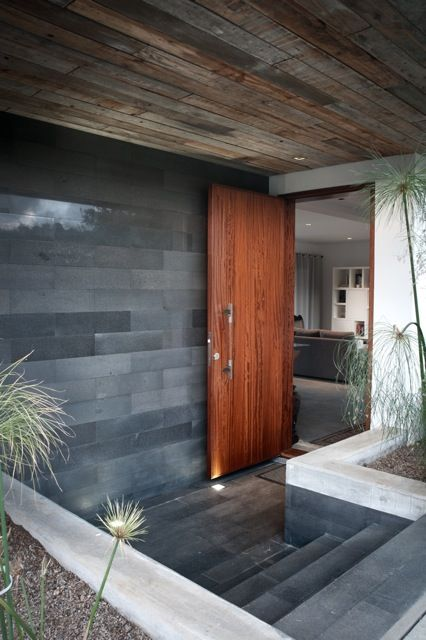 Sustainable Modern Home.   For more ideas on your dream home, visit www.customhomesbyjscull.com