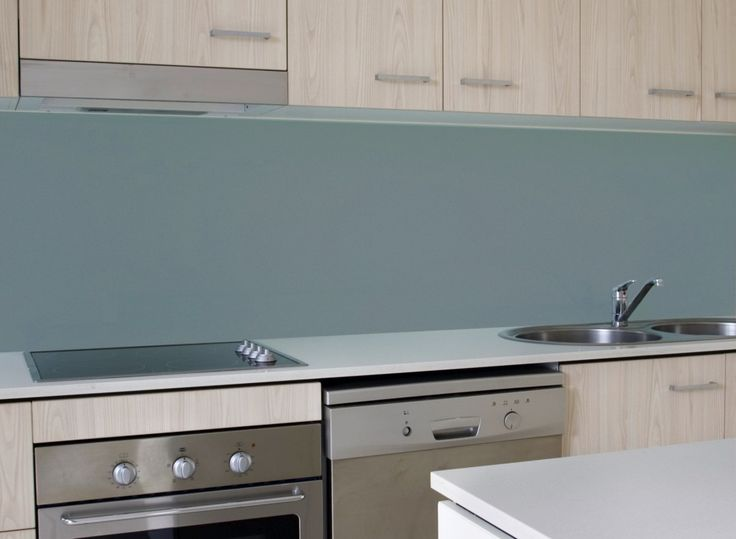 matte teal glass backsplash for the home pinterest