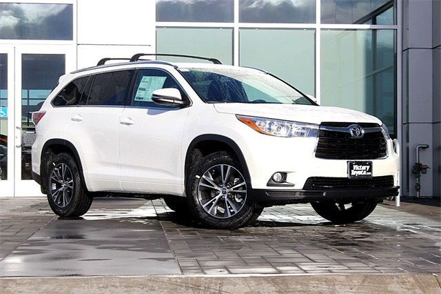 A matching White Toyota Highlander - to tow that beautiful boat of course!  thompsonstoyota.com