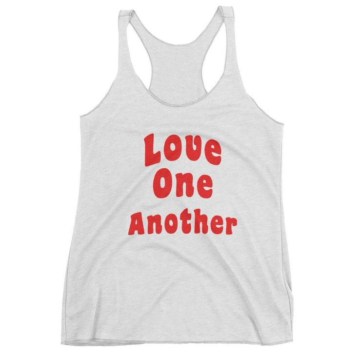 Love One Another Women's Tank Top