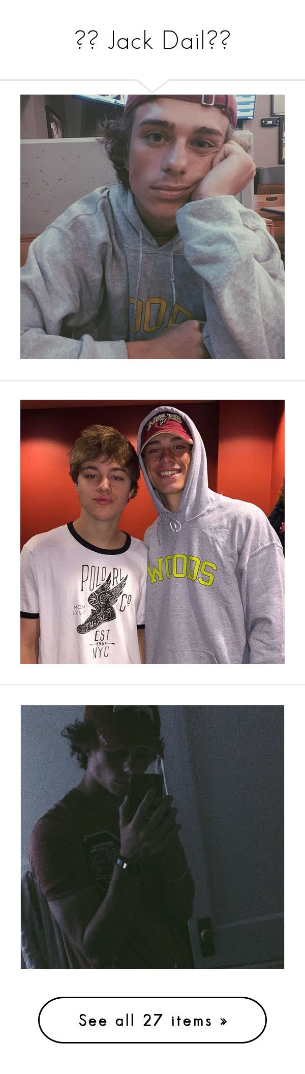 """""""✧♡ Jack Dail♡✧"""" by luni-salazar ❤ liked on Polyvore"""