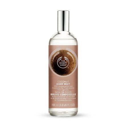 Coconut Body Mist from the Body Shop! I'm in love! -S                                                                                                                                                                                 More