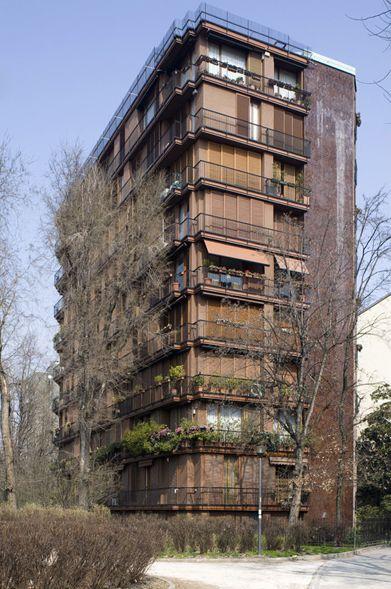 Luigi Caccia Dominioni - Residential (1963) Milan, Italy
