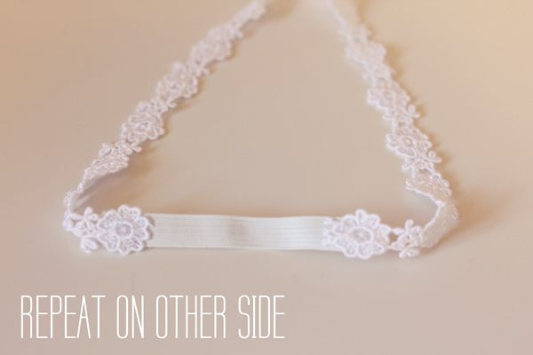 lace headband tutorial - see kate sew