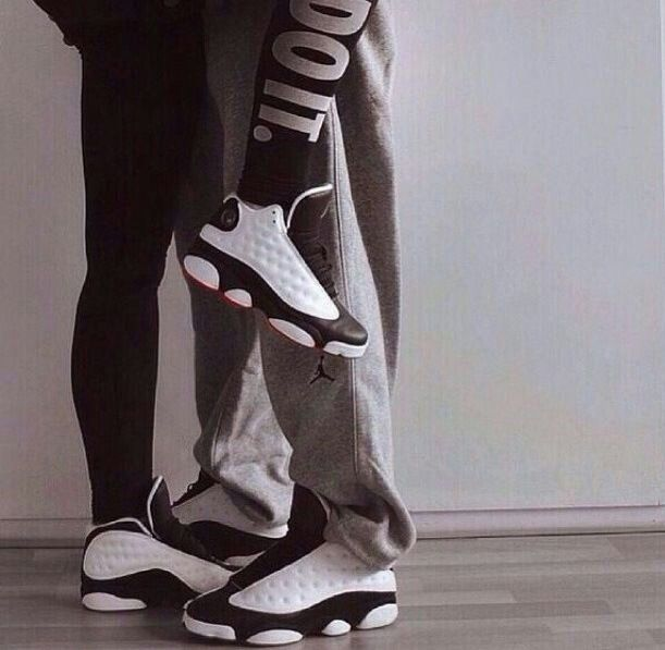 Couples who wear matching jordans stay together lol.