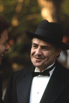 The Godfather - Marlon Brando and James Caan