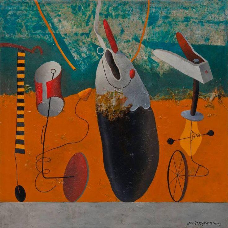 "Saatchi Art Artist Alex Berdysheff; Painting, ""Autumn Feast"" #art"