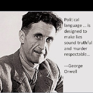 double thinking in george orwells novel 1984 The complete works of george orwell, searchable format george orwell 1984 part 1, chapter 1: 1984 part 1, chapter 1 part one 1 it was he knew-that o'brien was thinking the same thing as himself.
