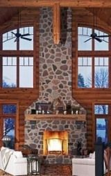 Christmas Decorating Fireplace Tips . . . Create a Cozy Cabin Hearth!