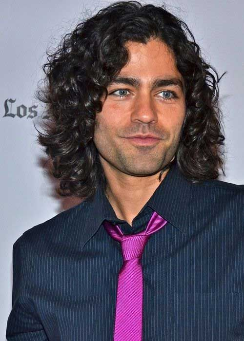 ten Men's Long Curly Hairstyles   Curly Men Hairstyles