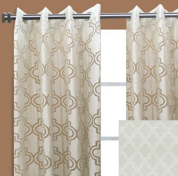 29 Best Geometric Curtain Panels Images On Pinterest