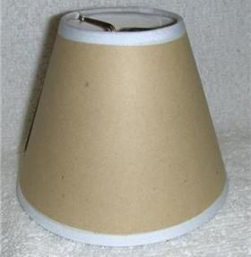 adhesive mini chandelier lamp shade use your fabric