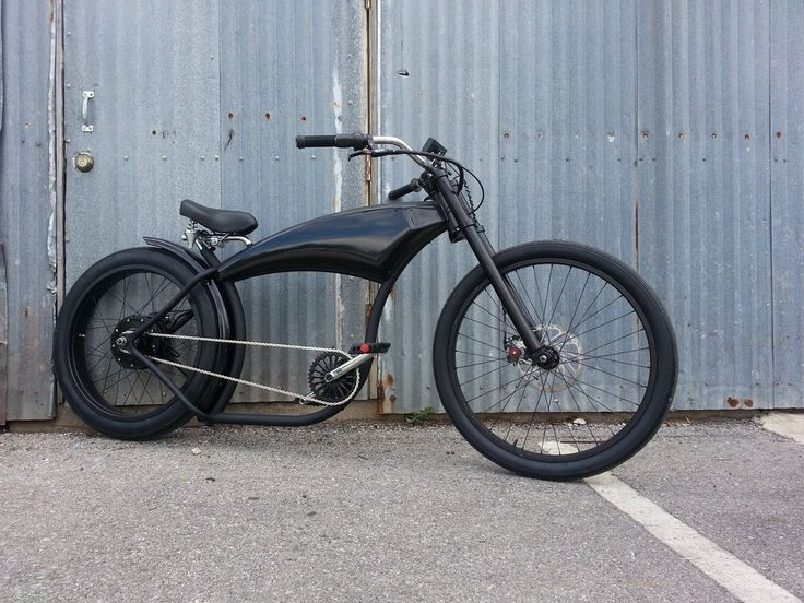 Dark Knight Rider E-Bike