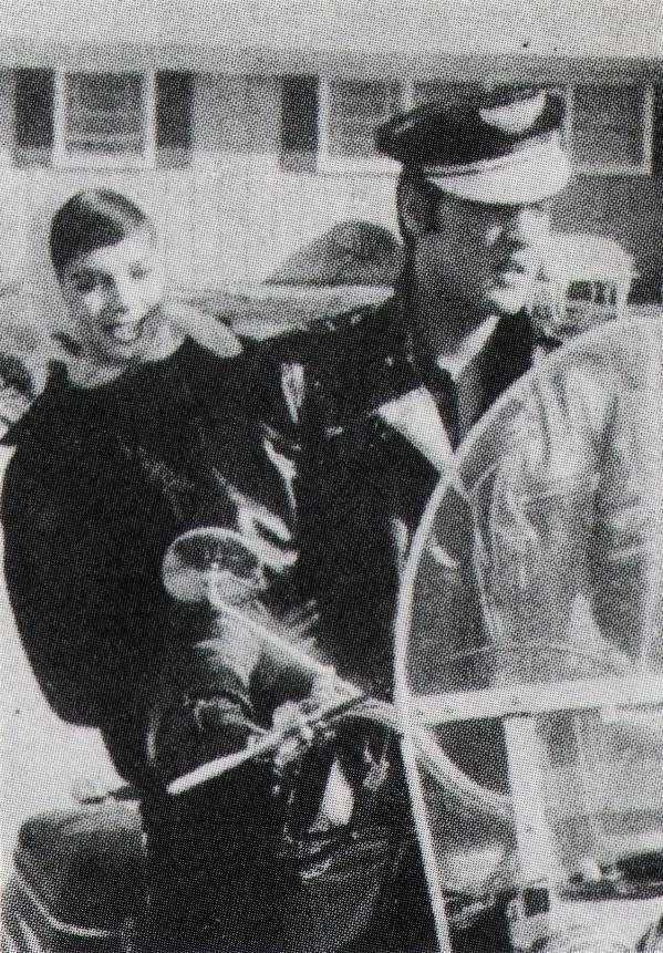 Elvis Presley prise de vue le 1er Novembre 1956 avec Natalie Wood