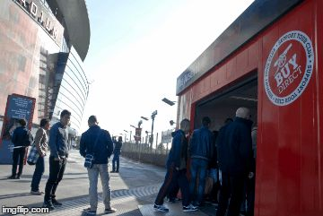 Stadium shops at Arsenal FC, Emirates Stadium
