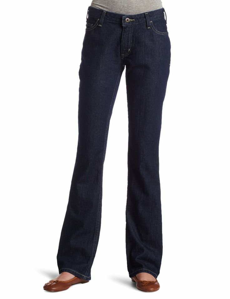 Carhartt Women's Curvy Fit Jean ($22.00) These jeans fit great! - Additionally, the curvy fit was great at butt and thigh, but there was a huge waist gap - enough for both fists to fit in at the lower back. - Some say too large, some too small. http://www.amazon.com/exec/obidos/ASIN/B0046ED3XC/hpb2-20/ASIN/B0046ED3XC