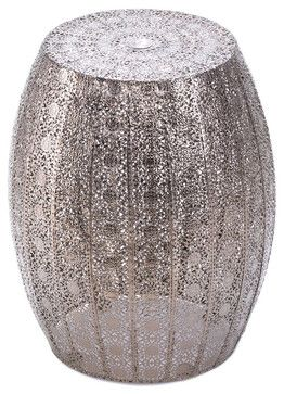 Moroccan Lace Stool contemporary-outdoor-stools-and-benches $57.95
