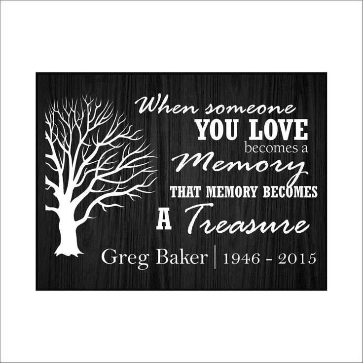 """Personalized """"In Memory of"""" plaque, Memorial Plaque, by BeInspiredKeepsakes on Etsy"""