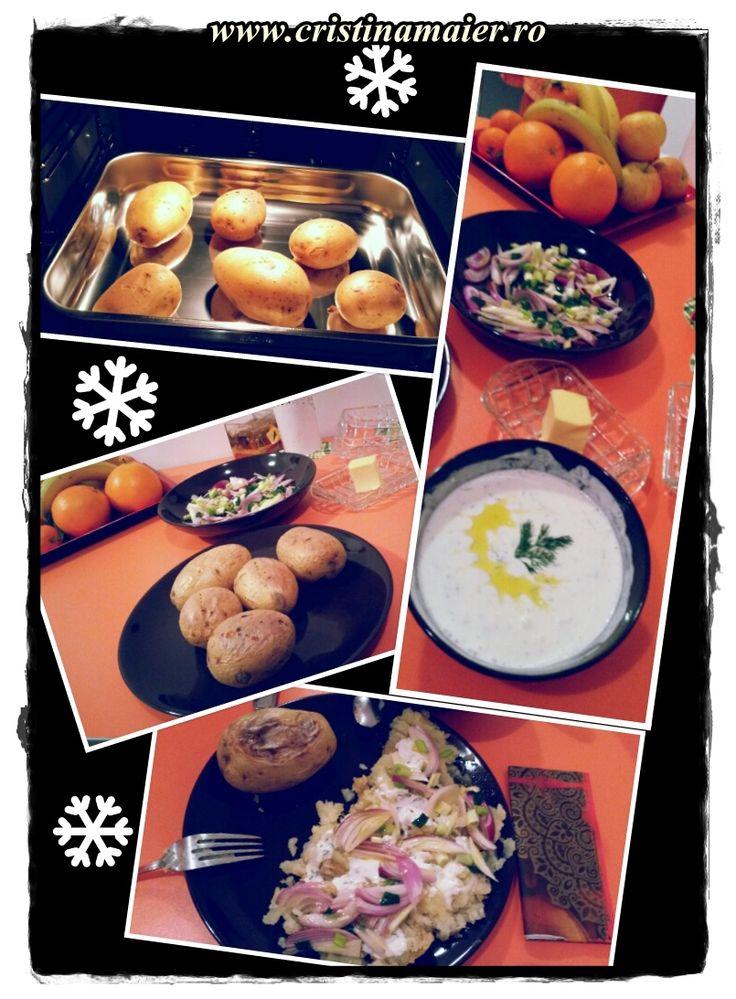 Cartofi pufoși, în rime, pe săturate!  Rețeta cu poveste, pe blog! www.cristinamaier.ro #new #recipe #story #cristinamaierro