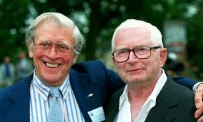 David Croft and Jimmy Perry were an English television writing partnership of writer Perry and director Croft. Creating sit-coms such as Dad's Army, It Ain't 'Arf Hot Mum, Hi Di Hi, You Rang M'Lord,