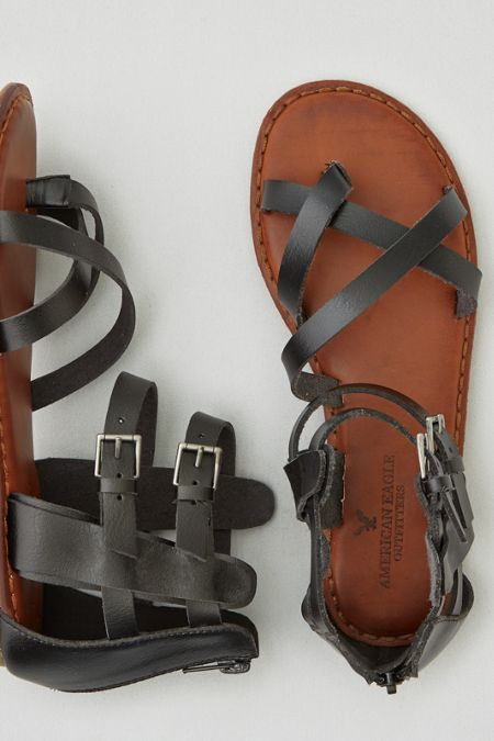 Walk on.  Shop the AEO Strappy Gladiator Sandal from American Eagle Outfitters. Check out the entire American Eagle Outfitters website to find the best items to pair with the AEO Strappy Gladiator Sandal.