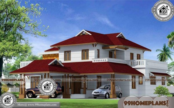Kerala Style Nalukettu House Plans With 3d Elevations Low