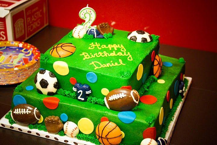 Sports Themed 2nd Birthday  http://sweetness-shannon.blogspot.com/