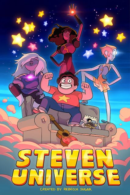 Steven Universe. Check it out on Cartoon Network, my next cartoon crush! Such a fun show!