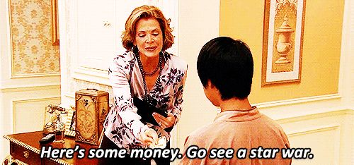 """You know a lot about movies.   15 Signs You're Definitely Lucille Bluth From """"Arrested Development"""""""