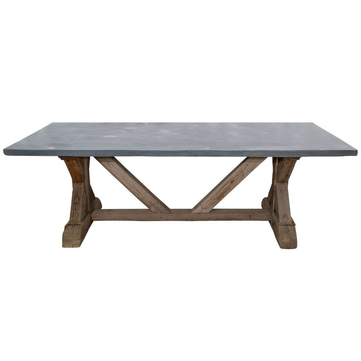 143 Best Tables Images On Pinterest  Coffee Tables Industrial Inspiration Stone Top Dining Room Tables Inspiration