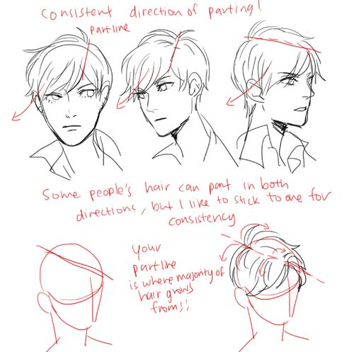 how to draw hairstyles tumblr - photo #45