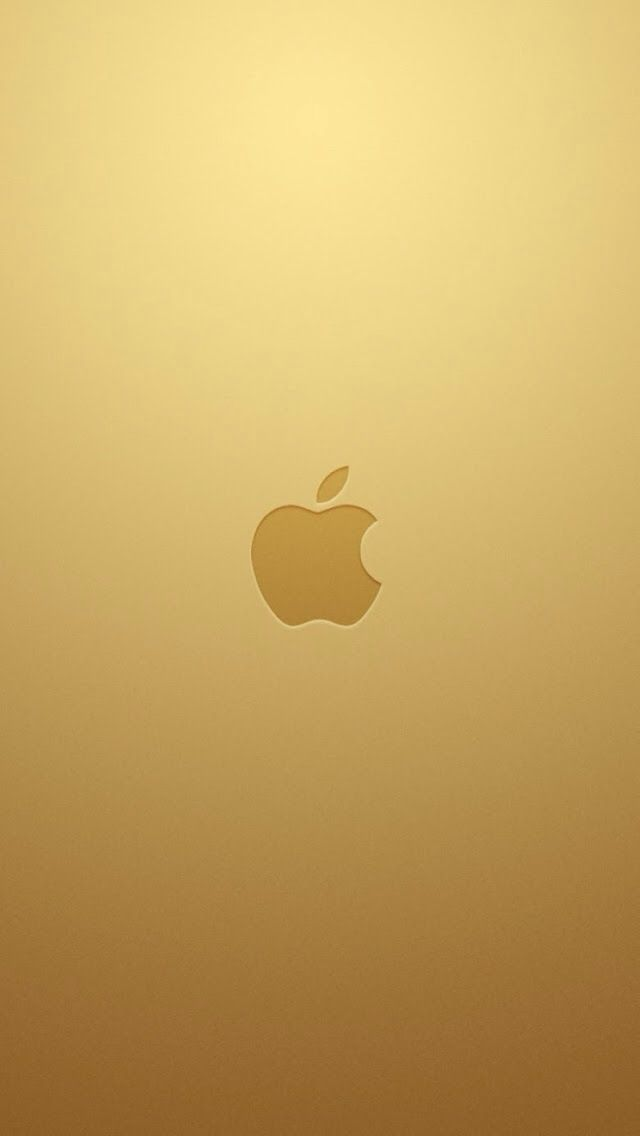 iPhone 5S Wallpaper Gold IOS7