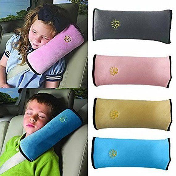 Soft Children Shoulder Neck Sleep Protection Pillow Car Seat Belt Strap Cushion