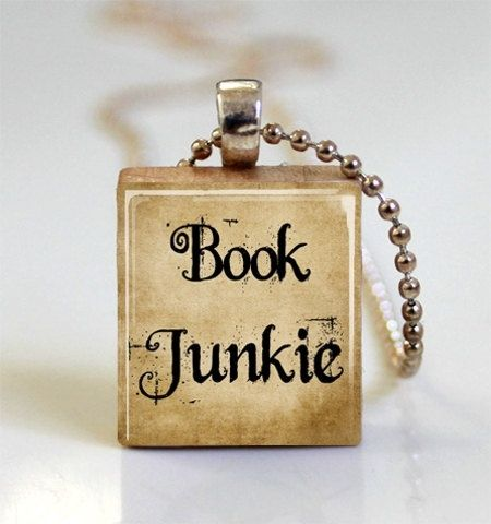 Jewelry for bookworms.
