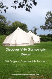 Discover Glamping the YHA Way in Devon | Amanda's Wanderlust