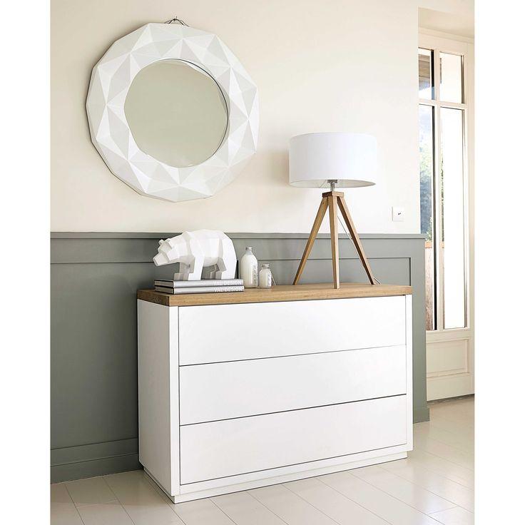 Les meilleures ides de la catgorie miroir maison du monde for Coiffeuse blanche maison du monde