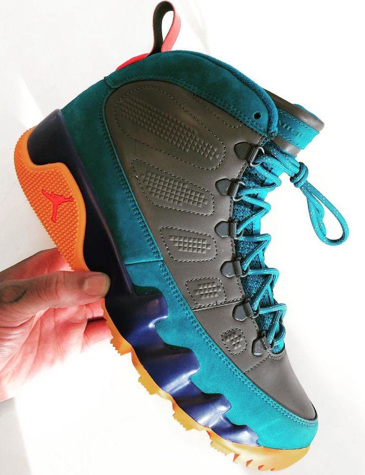 An Upcoming Colorful Air Jordan 9 Boot for the Winter Season