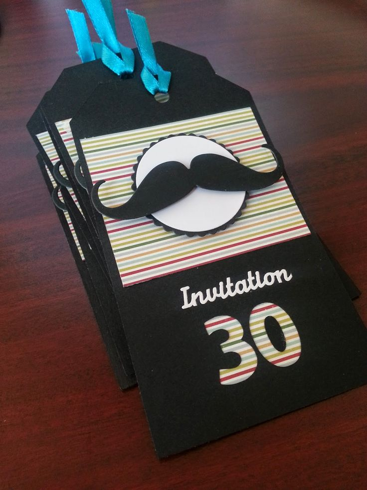 Le Scrap d'Elodie : Invitation 30 ans !