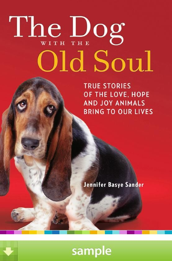 'Dog with the Old Soul True Stories of the Love an, Hope and Joy Animals Bring to Our Lives' by Jennifer Basye Sander -