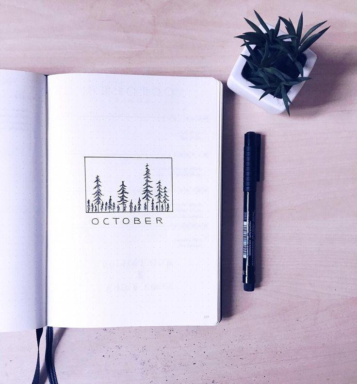 """Illustration """"October"""""""