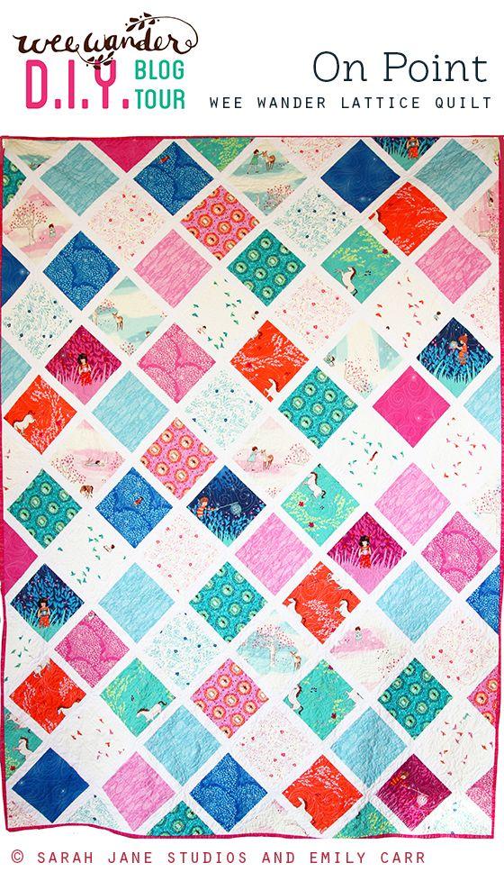 Wee Wander Blog Tour: Twin Quilt Pattern || Sarah Jane Studios || FREE PDF pattern