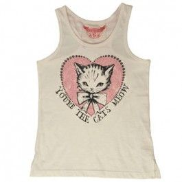 Paper Wings You're The Cats Meow singlet